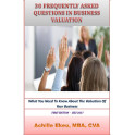 30 Frequently Asked Questions In Business Valuation
