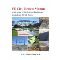 FE Civil Review Manual with over 1000 Solved Problems  including 2 Full Tests